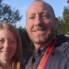 Three Counties Running Club duo take on virtual Great North Run challenge.