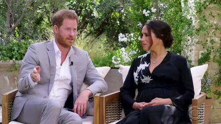Harry and Meghan are interviewed by Oprah