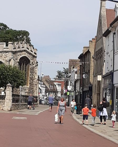 Huntingdon Bid welcomes the reopening of the High Street.
