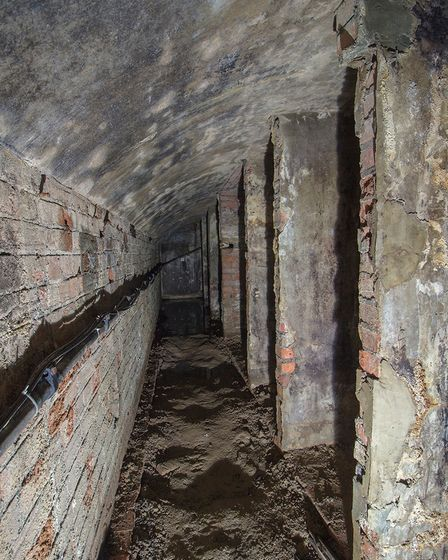 Wisbech underground brought to life in stunning 3D tour: Rose & Crown cellars