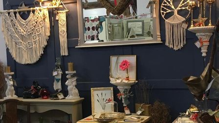 Homemade at The Barn in Kneesworth has locally made and artisan items for sale, and was taken over by new owner Caroline...