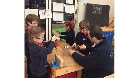 Children back in class after Covid lockdown