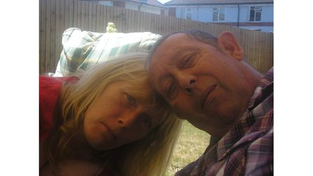 John Marks, who has passed away aged 69, with his wife, Sue