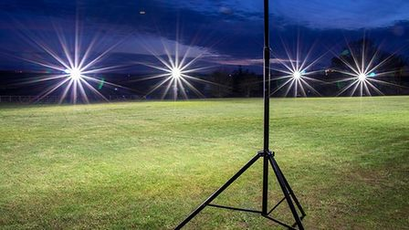 Kimbolton Town Colts Football Club will benefit from the acquisition of portable floodlights