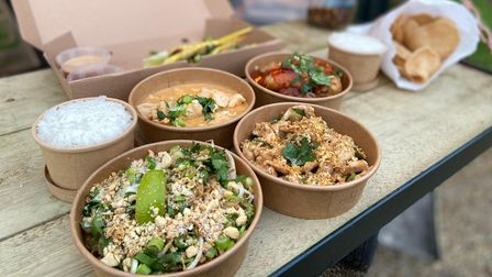 There are a range of starters and mains on offer from new Thai takeaway Phat Khao.
