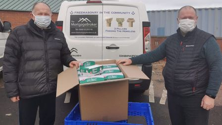 Pan-Emerald Limited, based in Eaton Socon, have supported the homeless