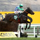 Davy Russell on Chosen Mate wins the Johnny Henderson Grand Annual Challenge Cup Handicap Chase at Cheltenham in 2020