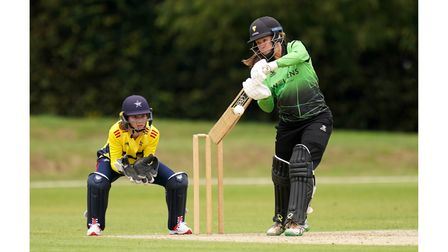 Western Storm's Sophie Luff hits out against South East Stars
