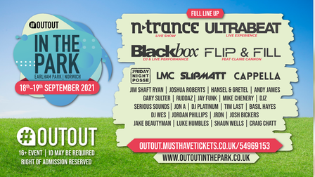 OutOut in the Park is coming to Norwich.