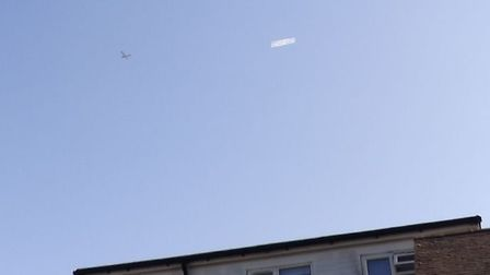 A pro-Brexit banner has flown over Derbyshire, Yorkshire and Sheffield during the coronavirus lockdo