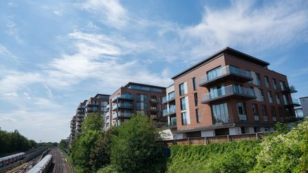 The outside of West Hampstead Square