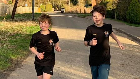 Wisbech brothers run a mile a day in NHS fundraiser