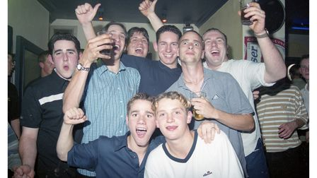 A night out at La Plage in Felixstowe in 1999