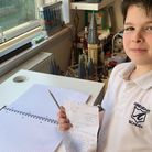 Ezra Gee, 7, wanted to thank his local NHS heroes.