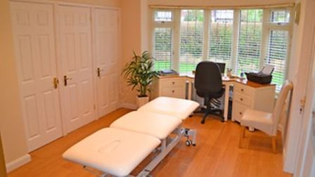 Aileen White's acupuncture room