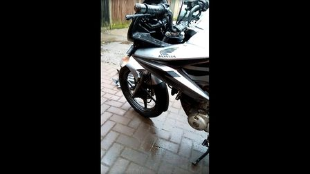 AHonda CBF 125cc was stolen from outsideSt Peter's Court in Lowestoft.