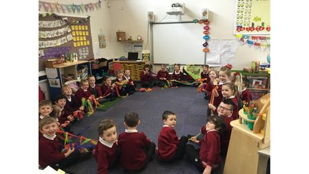 Smiles aplenty as Pakefield Primary School pupils return to the classroom.