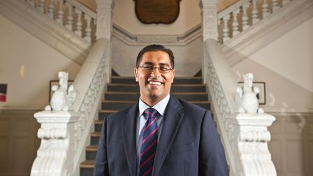 Mouhssin Ismail, principal of Newham Collegiate Sixth Form. Picture: Asian Media Group
