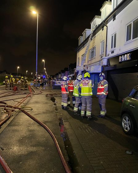 Ilford fire cannabis factory being investigated
