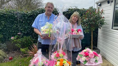 Couple Lee and Debbie Payne have launched Zerenity.UK, which offering beautiful bouquets made out of soap.