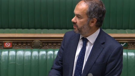 Paul Scully in the House of Commons
