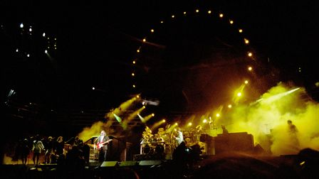Shine On You Crazy Diamond... Pink Floyd's performance at the 1990 Silver Clef Awards concert at Knebworth is to be...