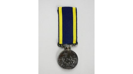 The Punjab Medal from 1849
