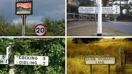 25 of the funniest street and place names in Sussex