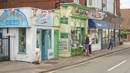 Small businesses in Bridge Road, Oulton Broad are collaborating so that they can each be a pick up p