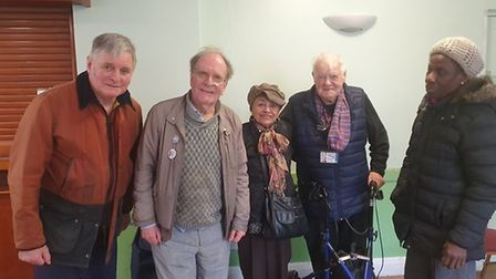 Hackney Pensioner Convention Group Members