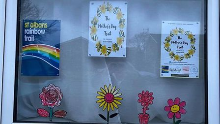 Mother's Day Trail Window by Hollie, Willow and Emelia Enticott