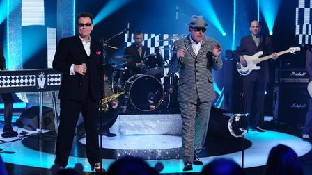 Madness performing for a Children in Need appeal