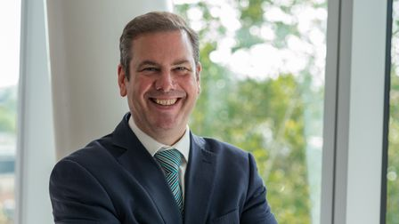Oaklands College's incoming principle, Andrew Slade