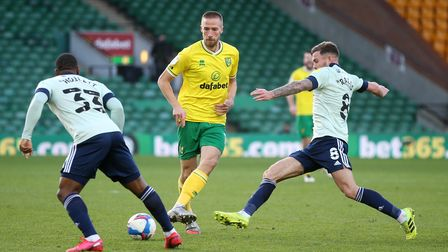 Norwich City's attacking midfielder Marco Stiepermann is back after a virus ruled him out for three months