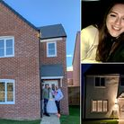 Craig and David Rowland-Barnes, at their new home in Ormesby; James Askew and his partner Amber De Pasquale and the home...