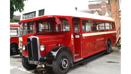 AEL Regal started service in 1946 and ran on routes like Torquay to Teignmouth.