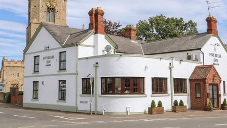 Five Bells at Upwell which has closed as a pub and now offering holiday accommodation for groups of