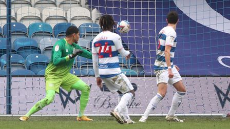 Huddersfield Town's Juninho Bacuna (not in picture) scores against QPR