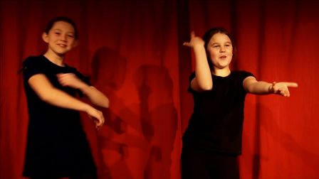 A Mimic Stage School performance in the 77th Welwyn Garden City Youth Drama Festival.