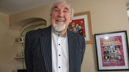 Entertainer Mike Wallis who will be taking his final bow on a Great Yarmouth stage. Picture: Daniell
