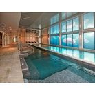New spa swimming pool at award winning hotel
