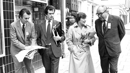 """The """"Gang of Four"""" (l-r) David Owen, Bill Rodgers, Shirley Williams andRoy Jenkins"""
