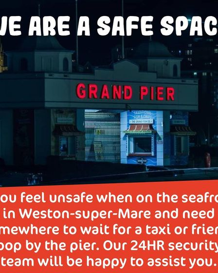 Sarah Everard: Grand Pier offers shelter for people at night.