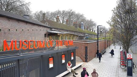 Museum of The Home - new entrance opposite Hoxton station