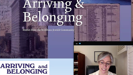 The Arriving and Belonging online panel event hosted by St Albans Museums.
