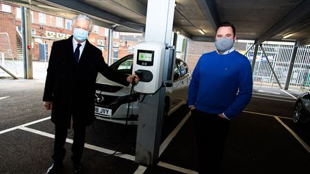 Hatfield electric vehicle charger