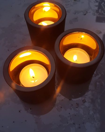 Around 60 families across Baldock, Letchworth and Ashwell joined in a candle-lit vigil for Sarah Everard