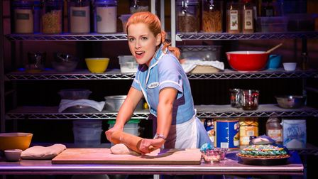 Bailey McCall as Jenna in Waitress which is scheduled to re-open the Ipswich Regent on May 17