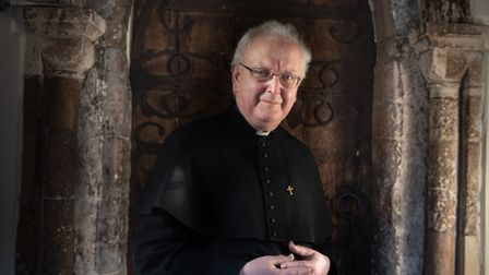 Father John Thackrayhas been the parish priest of St Mary at the Elms in Ipswich for five years