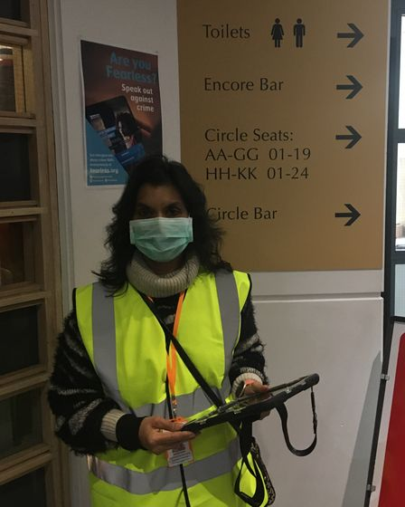 Primary school teacher Nazma Taiyeb has volunteered her days off to aid the smooth operation of vaccination centres across...